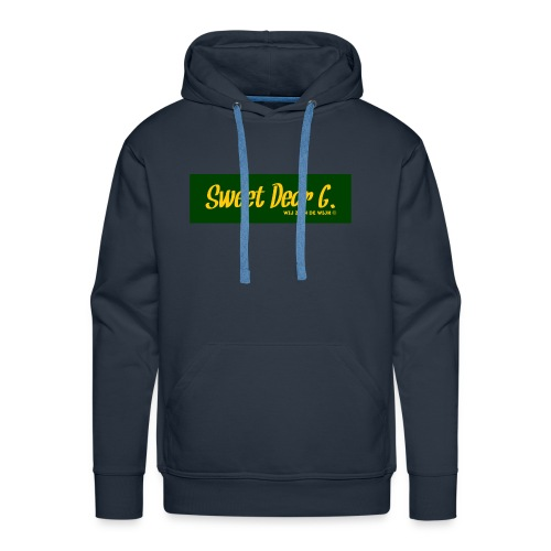 Sweet Dear G Groen Geel - Mannen Premium hoodie