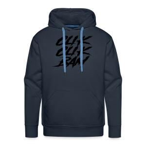 clik clik bam - Sweat-shirt à capuche Premium pour hommes