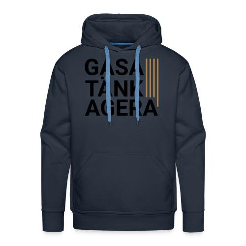 T-shirt för inspiration. Gasa-Tänk-Agera - Premiumluvtröja herr