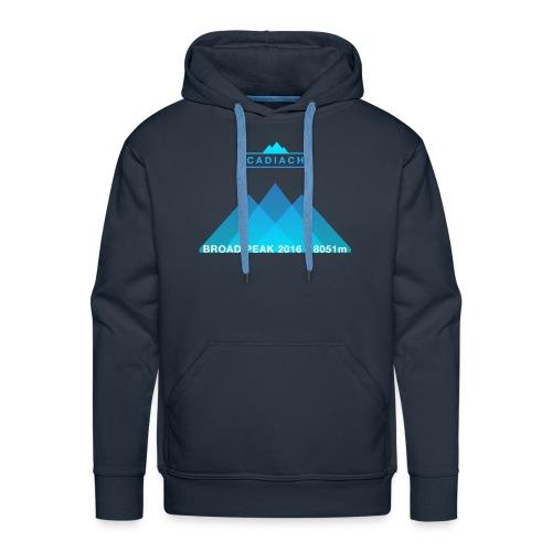 Cadiach Broad Peak 2016 - Hombre - Sudadera con capucha premium para hombre
