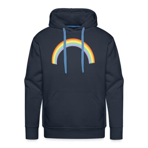 Arco Iris - Sudadera con capucha premium para hombre