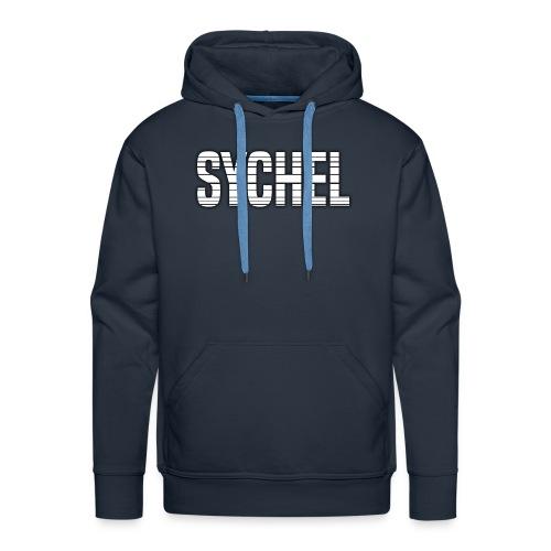 Sychel Bold Logo - Men's Premium Hoodie