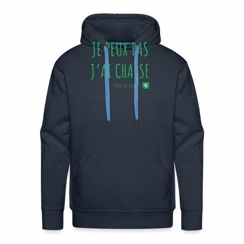 Chasseur et fier. - Sweat-shirt à capuche Premium pour hommes