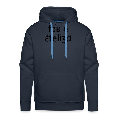 Fort et intelligent - Sweat-shirt à capuche Premium pour hommes