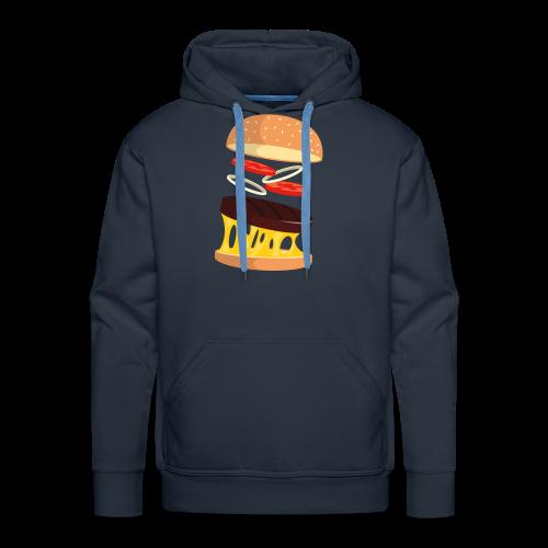 Hamburger Men - Men's Premium Hoodie