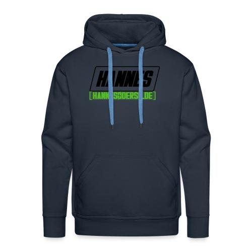 Hannes Logo - Männer Premium Hoodie
