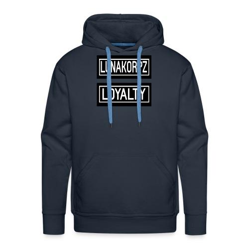 LOYALTY - Mannen Premium hoodie