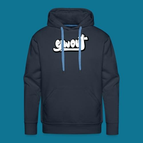 Premium T-shirt vrouw (zwart wit) - Mannen Premium hoodie