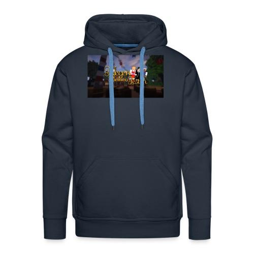 Posterlogo2 - Mannen Premium hoodie