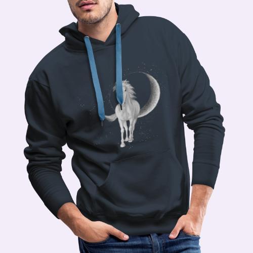 Sternenpferd cover - Männer Premium Hoodie