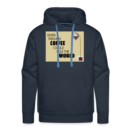Coffee Champion - Men's Premium Hoodie