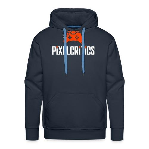 PixelCritics Logo Original - Männer Premium Hoodie
