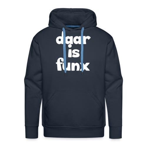 Pet DaarIsFunx - Mannen Premium hoodie