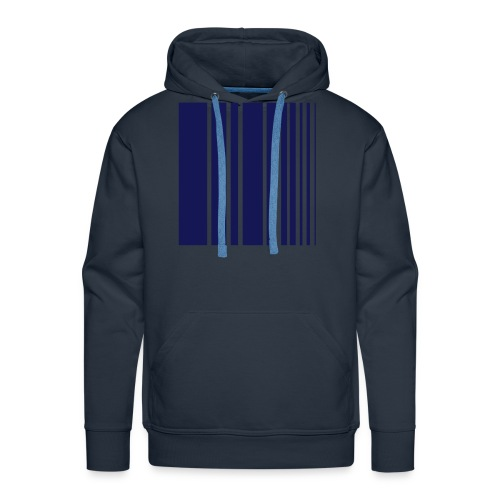 stripes blue - Men's Premium Hoodie