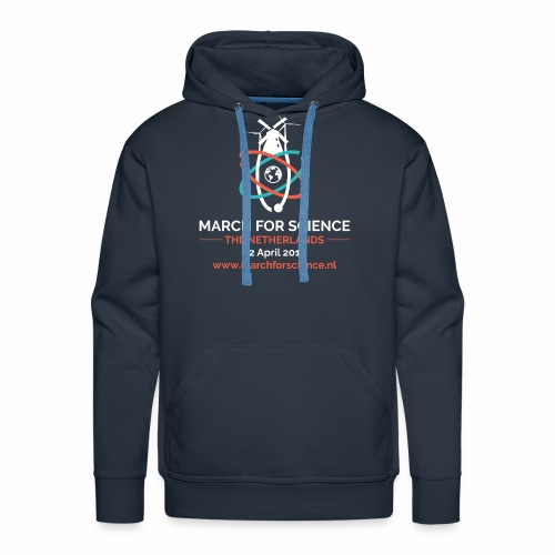 MfS-NL logo dark background - Men's Premium Hoodie