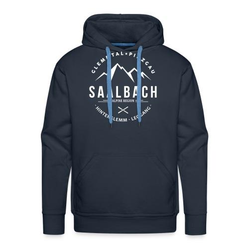 Saalbach Mountain Classic - Mannen Premium hoodie