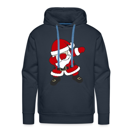 Dab Dabbing Trend Santa Claus Weihnachtsmann Logo - Männer Premium Hoodie