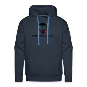 I SEE GREY PEOPLE - Men's Premium Hoodie