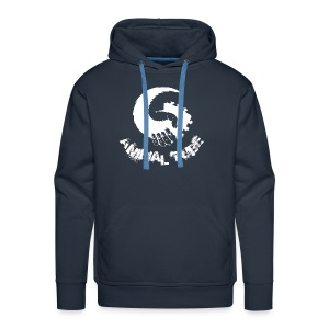 Animal Tube Hand White - Männer Premium Hoodie