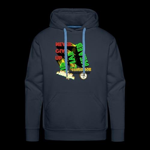 Never give up (Kansidah Design) - Männer Premium Hoodie