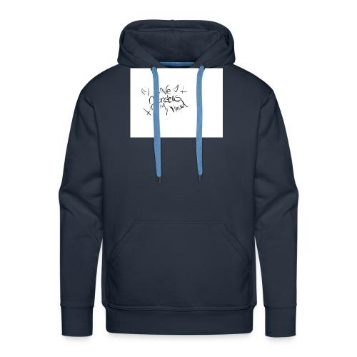 monsters in my head - Mannen Premium hoodie