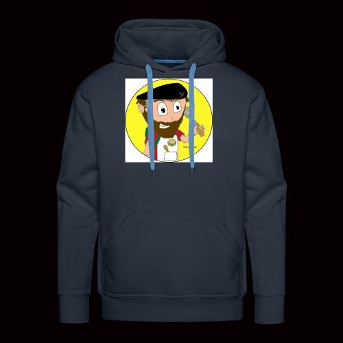 r svg - Sweat-shirt à capuche Premium pour hommes