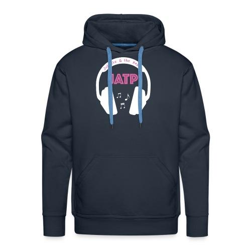 CASQUE AUDIO BLANC - Sweat-shirt à capuche Premium pour hommes