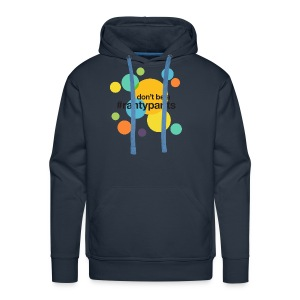 #rantypants (light background) - Men's Premium Hoodie