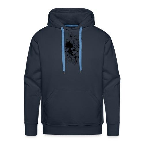 Akasacian tshirt design 611 - Sudadera con capucha premium para hombre