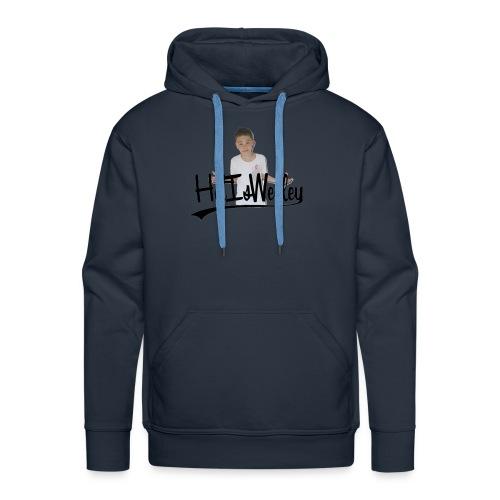HetIsWesley T-Shirt - Mannen Premium hoodie