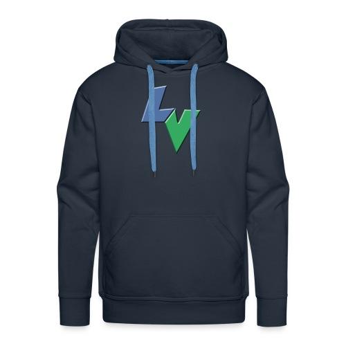 LeoVeo LV Logo - Men's Premium Hoodie
