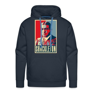 Sir Ernest Shackleton (red, white & blue colours) - Men's Premium Hoodie