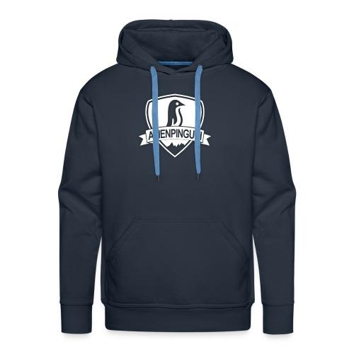 AlienPinguin Logo Vector - Männer Premium Hoodie