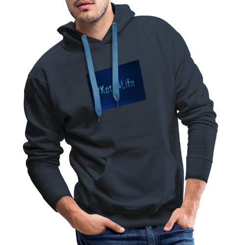 Keto For Life - Men's Premium Hoodie