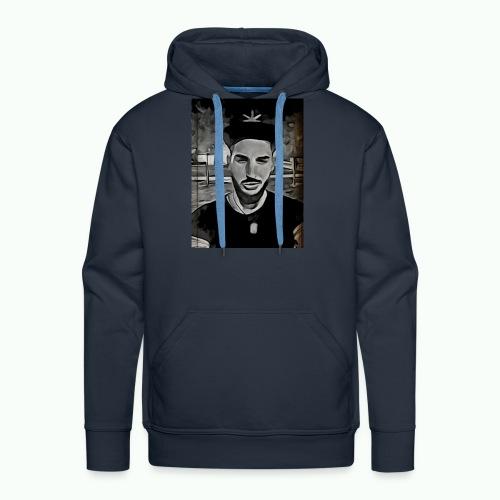 Rapero - Sudadera con capucha premium para hombre