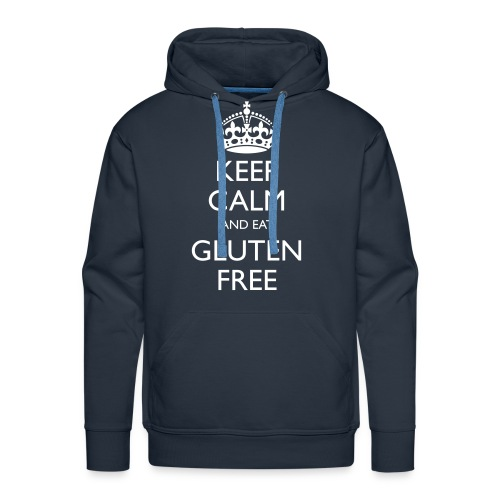 Keep Calm And Eat Gluten Free - Mannen Premium hoodie