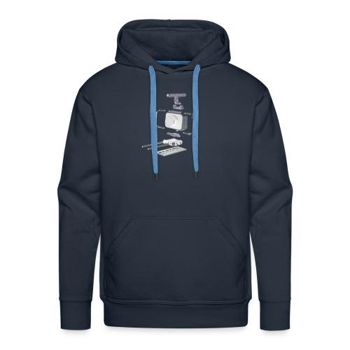 VivoDigitale t-shirt - Blackmagic - Felpa con cappuccio premium da uomo