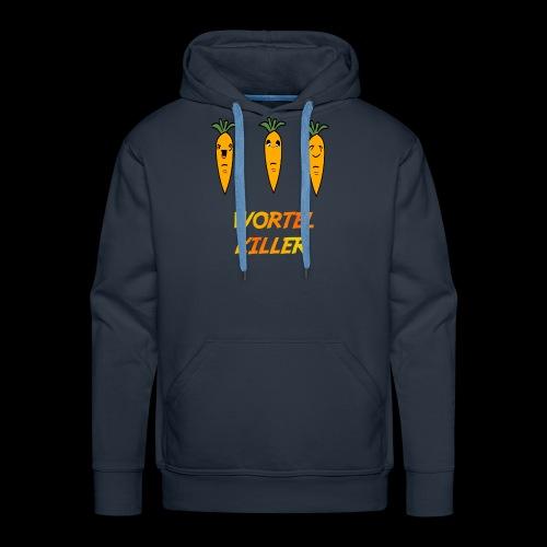 Wortel Killer [Kids Premium T-Shirt] - Mannen Premium hoodie