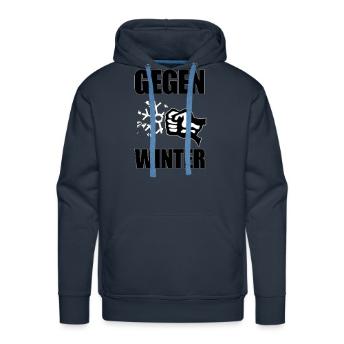 Gegen Winter - Männer Premium Hoodie