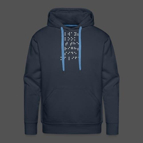 Braille fashion - Mannen Premium hoodie