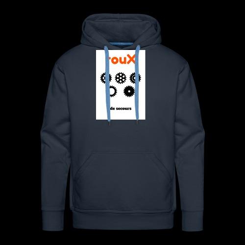 Roux 1 - Sweat-shirt à capuche Premium pour hommes