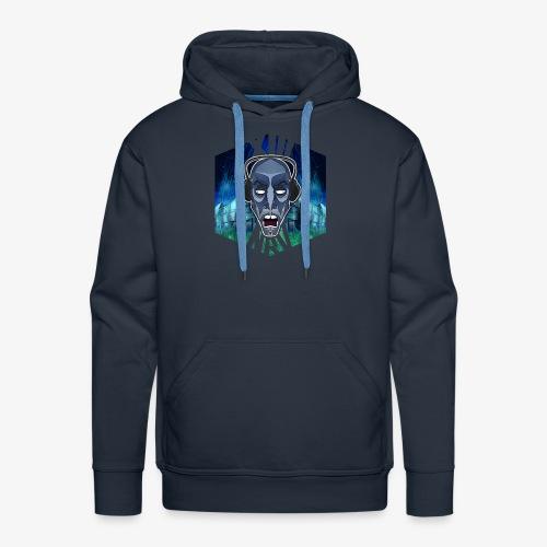 XIIINRVDU6TM OFFICIEL FACE RAVEWEAR - Sweat-shirt à capuche Premium pour hommes