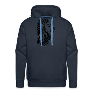 lion tribal shirt - Männer Premium Hoodie