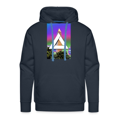 SIXTH DIEMENSION MONUMENT - Men's Premium Hoodie