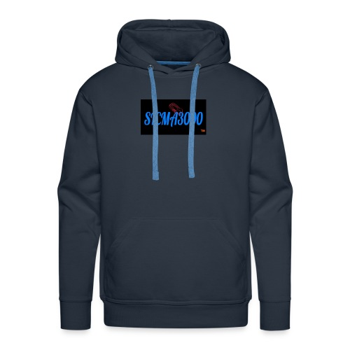 sicma1 - Sudadera con capucha premium para hombre
