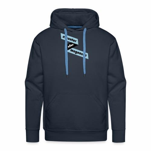 #MunterEllerMogensen - Herre Premium hættetrøje