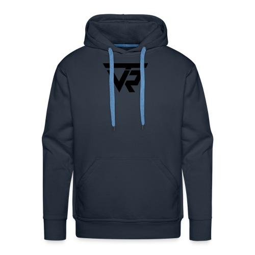 TVR Logo schwarz - Männer Premium Hoodie