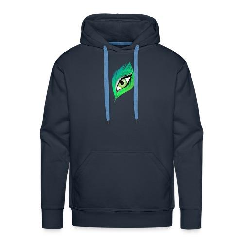 oko - Bluza męska Premium z kapturem