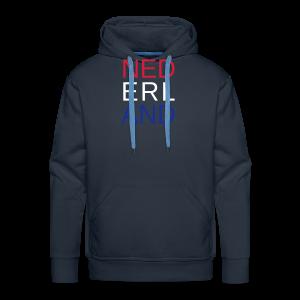 Nederland in de kleuren van de vlag - Mannen Premium hoodie