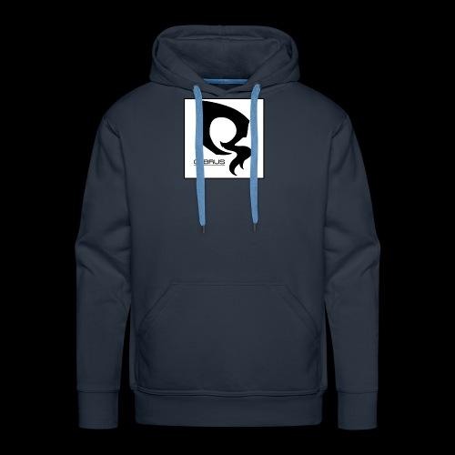 ᐚ ᗕ ᔹ ᖼ ᐻ Ż ____________LOGO v.2 By 5YN7H - Sweat-shirt à capuche Premium pour hommes